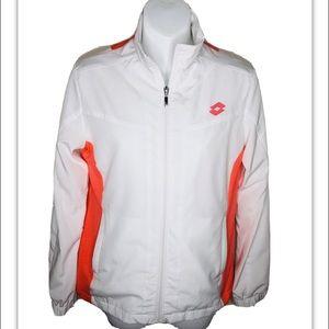 Lotto Natty Tennis Track Jacket Coat White S